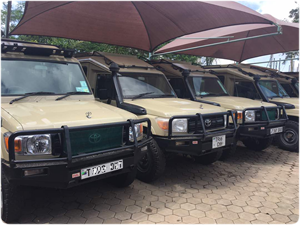 Sky of Serengeti Safaris Vehicules